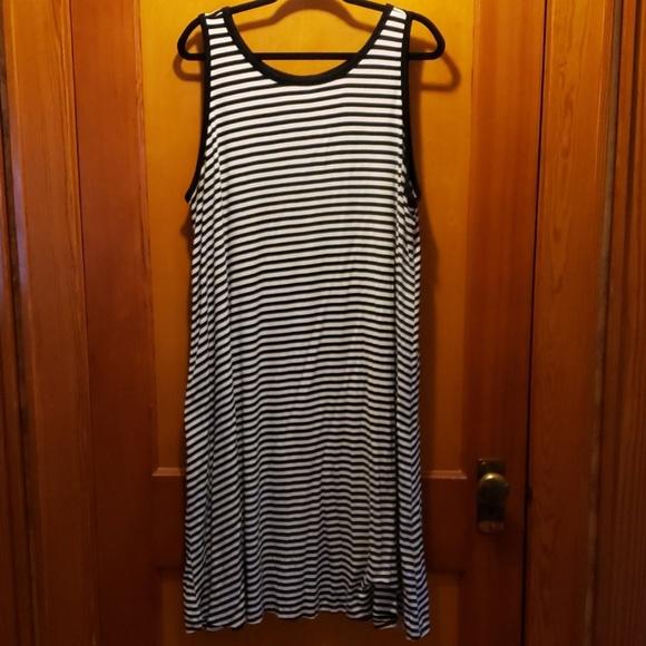 2a3c99e3c7cad Old Navy Dresses | Sleeveless Plussize Jersey Swing Dress | Poshmark